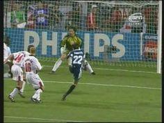 Zanetti Free Kick - Argentina v England - World Cup 98
