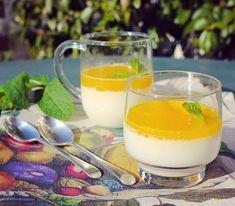 Pannacotta au lait d'amandes, fleur d'oranger et gelée d'agrumes (Paint it Green Cuisine Végétale)