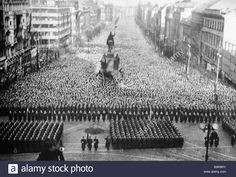 A mourning rally in Prague during Joseph Stalin s funeral March 9 1953