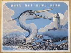 "Dave Matthews Band - silkscreen concert poster (click image for more detail) Artist: Neal Williams Venue: Molson Amphitheatre Location: Toronto, ON Concert Date: 7/21/2015 Size: 24"" x 18"" Edition: art"