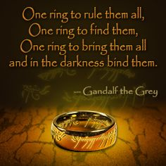 The Lord of the Rings quote
