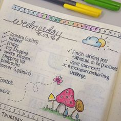 Time Management Line in Bullet Journal - Focus and Time Management - Tips for…