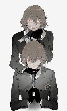 Persona 5 Shadow Goro Akechi