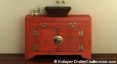 Furniture style vanities
