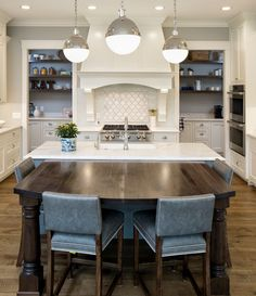 Shingle Style Home with Casual Coastal Interiors