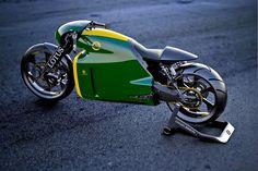 'Tron' designer creates a real-world superbike   The Verge