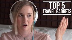 Here are my top 5 travel gadgets! Noice-cancelling headphones are key for when you're actually underway on planes, trains, buses, or anywhere. A portable phone charger is a must. I've just started using the Tep wireless device and definitely like it so far. A luggage scale has saved me a lot of stress over the years and now I couldn't imagine guessing what my bag weighs and being stressed all the way to the airport. The USB Misty is an aromatherapy essential oil diffuser.