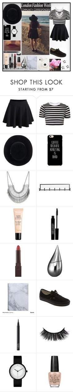 """""""🚖"""" by noypint ❤ liked on Polyvore featuring WithChic, Topshop, Eugenia Kim, Lucky Brand, House Doctor, Guerlain, Lord & Berry, Burt's Bees, La Prairie and Fuji"""