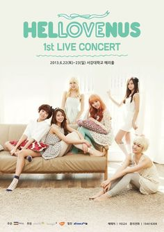 Hello Venus sells out first solo concert in one minute ~ Latest K-pop News - K-pop News   Daily K Pop News