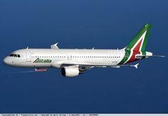 Foto Alitalia Airbus A320-216 EI-DSY