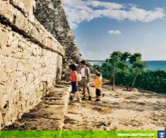 #royaldestination Um passeio pelas ruínas maias em Cozumel, no México, é pra ficar na memória pra sempre.