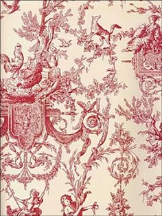 I have loved toile for 20 years and will NEVER get tired of it's elegance, despite how out of style it may be considered....what do I care????