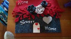 Pannello casa dolce casa