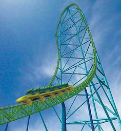 To ride Kingda Ka, the tallest rollercoaster in the world! 456foot tower, 128mph, and a change of underwear! Six Flags Great Adventure, New Joisey
