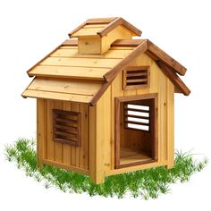 Have to have it. Pet Squeak Bird Dog House - $79.99 @hayneedle