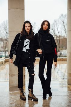 VITTORIA CERETTI, YASMIN WIJNALDUM - A Parigi è iniziata la Settimana della Moda, e tutte le top e - March 2017