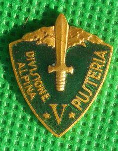 distintivo alpino fregio cappello alpini scudetto pusteria