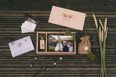 Wedding Photography Packaging - Wooden USB Box