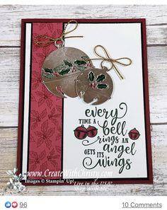 Stampin Up Christmas, Christmas Bells, Christmas And New Year, Handmade Christmas, Christmas Cards, Holiday Cards, Christmas Movies, Stampin Up Catalog, Stamping Up Cards