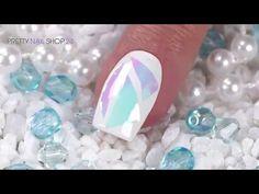#nailart   #brokenglass   #foil   #nails   Mit der neuen Jolifin Diamond Foil in pink oder blue zauberst Du Dir im Handumdrehen den trendy Broken-Glass-Look auf Deine Nägel. Wie toll das aussehen kann, zeigen wir Dir in diesem Video. Hier findest Du alle verwendeten Produkte: http://www.prettynailshop24.de/shop/nailart-broken-pieces-mit-diamond-foil-video_898.html#Produkte?utm_source=pinterest&utm_medium=referrer&utm_campaign=pi_NA_DiamonfFoil0816
