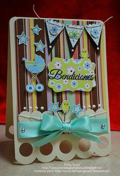 Baby shower card idea
