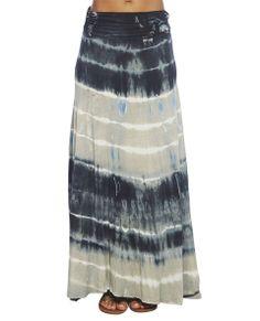 Tie Dye Maxi Skirt  | Wet Seal