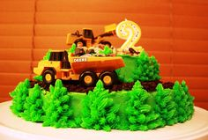 Party Cakes: Digger/Dump Truck Cake