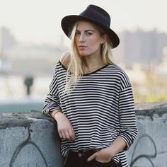 Yellow108 | Sustainable Headwear + Accessories - The Eastwood - Navy
