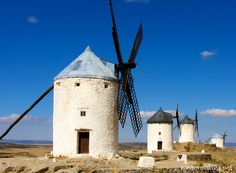 The Windmills of Consuegra, Spain (Don Quixote)