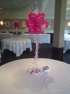 Balloon toparies   #Balloon wedding centerpiece #balloon-wedding-centerpiece
