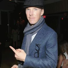 Benedict Cumberbatch Really, Really Loves To Point At Things