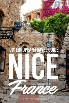 DIY European Travel Guide: Nice, France Nice (pronounced as Nis) is one of the towns of Côte d'Azur in the southeast of France, facing the Mediterranean Sea. It is one of the go-to places of Europeans during summer where they can get their dose of sea and sand. While it may be one of the expensive places to visit in France, there are still inexpensive and free things to do in Nice.