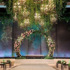 We've rounded up some of the most original wedding altar decoration ideas in different styles. See our gallery for more inspiration! Wedding Altar Decorations, Wedding Backdrop Design, Wedding Stage Design, Wedding Reception Backdrop, Marriage Decoration, Wedding Altars, Engagement Decorations, Backdrop Decorations, Decor Wedding