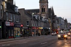 Aberdeen, Scotland - spent 6 rainy days there riding the double decker bus