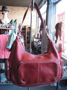 ea2273f342 Large size bag but not too large. Tons of pockets! Love Tignanello s leather.   59.99. Bremen Store.