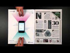 #Sonera  Combining digital and printed media