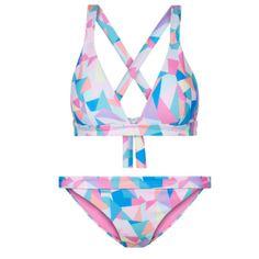 Rainbow Beach: The Colourful Bikini Edit Rainbow Beach, Bibs, Bikinis, Color, Design, Women, Fashion, Colour, Dribble Bibs