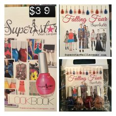 Superstar Nail Lacquer's Fall 2012/2013 colors. Four Pack special. $39.00 www.superstarnaillacquer.com