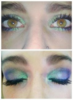 Younique Products  Peacock look!