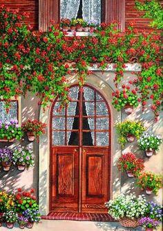 çiçekli balkonlar - Google'da Ara
