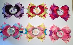 My Little Pony 6 Hair Bow pack