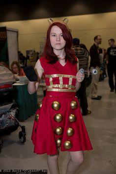 Dalek Doctor Who Cosplay, Dalek, Tardis, Skater Skirt, Skirts, People, How To Wear, Fashion, Moda