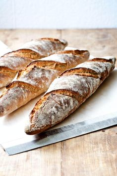 Bread Bun, Pan Bread, Bread Baking, Bread Recipes, Soup Recipes, Baguette Recipe, Food Crush, Our Daily Bread, Bread And Pastries