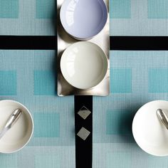 Engineered Squares Placemats By Chilewich Spark Living Online Boutique For Unique Home Decor