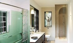 Before and After En suite Transformation Images, Interior Architecture, Interior Design, Furniture, Home Decor, Architecture Interior Design, Nest Design, Decoration Home, Home Interior Design