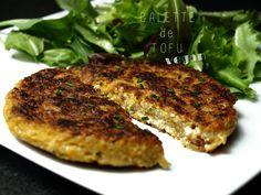 Galette de tofu vegan et sans gluten