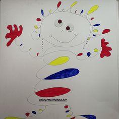 Calder: un diavolo per capello.....e per corpo. partendo dalla lettura di alcuni quadri di Calder, oggi lo staff di #progettoinfanzia ha proposto ai bambini Alexander Calder, Herve, Art Plastique, Diy And Crafts, Projects To Try, Shapes, Inspiration, Clowns, Gabriel