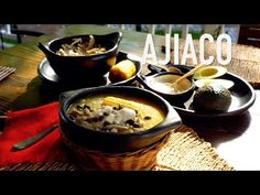 Espectacular sopa colombiana se preparada a con diferentes tipos de papa, con pollo y mazorca, solo hay que seguir el paso a paso! Colombian Food, Deli, Fondue, Cheese, Ethnic Recipes, Soups, Youtube, Chicken Croquettes, Pastries