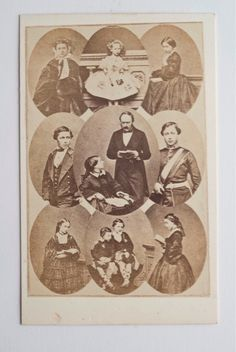 Queen Victoria (1819-1901) & Prince Albert (1819-1861) & thier children.
