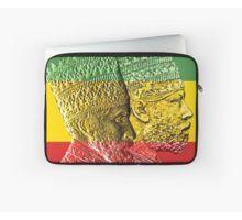 'Haile Selassie Menelik Kings of Kings Ethiopia' Laptop Sleeve by rastaseed